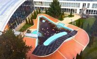 Hotel Béke külső gyógyvizes melegvizes medencéi Hajdúszoboszlón
