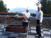 Hétvége Galyatetőn a Grand Hotel**** Galyában - grill terasz