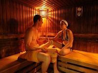 Hunguest Hotel Helios szaunája wellness hétvégére Hévízen
