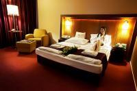 Hotel Caramell 4* szabad kétágyas hotelszobája akciós áron Bükfürdőn