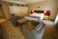 4* Dráva Hotel franciaágyas szép hotelszobája Harkányban