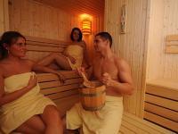 Hotel Flóra*** szaunája Egerben wellnesst kedvelőknek