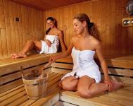 Hotel Lövér Sopron*** akciós wellness szálloda szaunája