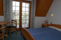 Panorámás hotelszoba a Balatonnál Keszthelyen a Kakadu Hotelben