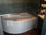 Szállás Ráckevén a Duna Relax Felnőtt Wellness Szállodában - fürdőszoba