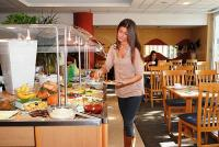 4* Hotel Novotel Szeged reggelizője