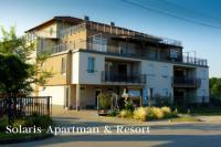 Solaris Apartman Resort Cserkeszőlő - Olcsó, konyhás apartmanok fürdőbelépővel Cserkeszőlőn