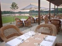 Balneum Hotel Tiszafüred kilátás a szálloda teraszáról a Tiszára