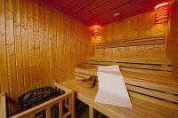 Abacus**** Wellness Hotel szaunája wellness hétvégére Herceghalmon