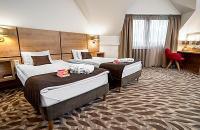 Rubin Wellness Hotel szabad kétágyas szobája Budapesten